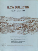 ILCA Bulletin: no. 17 - January 1984