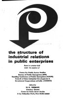 The Structure of Industrial Relations in Public Enterprises