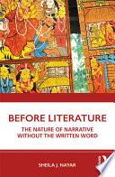 Before Literature