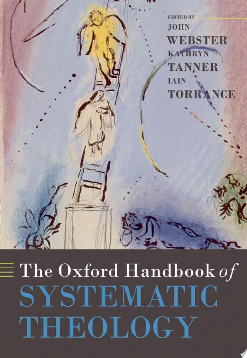 The Oxford Handbook of Systematic Theology banner backdrop