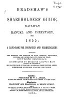 Bradshaw s Railway Manual  Shareholders  Guide  and Official  Directory