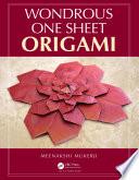 Wondrous One Sheet Origami