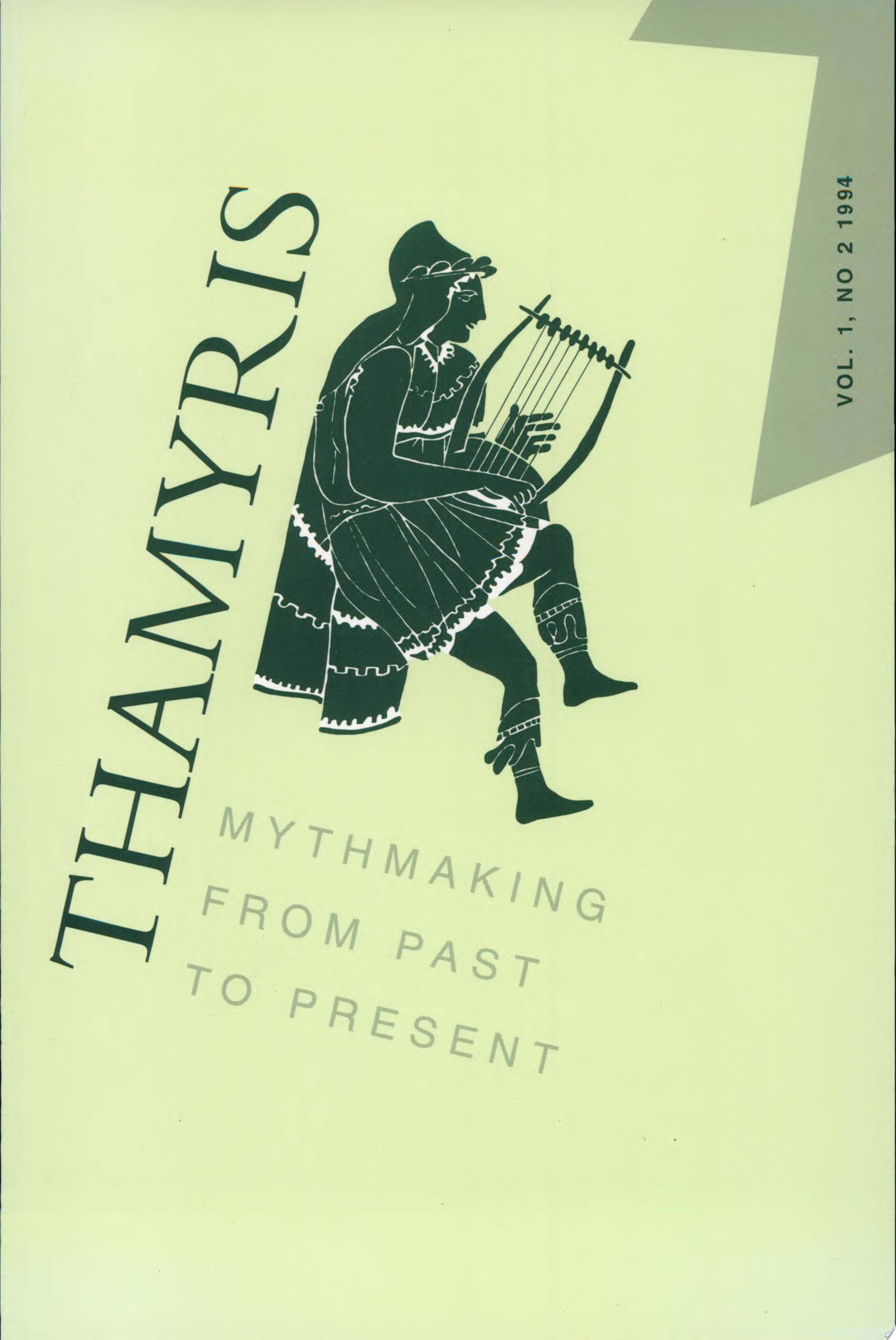 Thamyris Vol 1 2