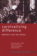 Carnivalizing Difference Pdf/ePub eBook