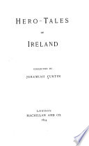 Hero tales of Ireland Book