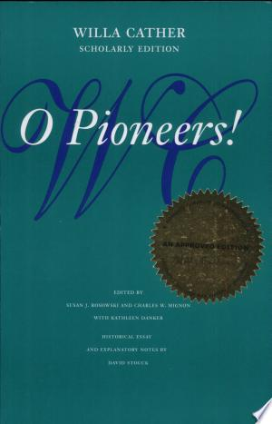 Download O Pioneers! Free PDF Books - Free PDF