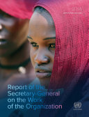 Report of the Secretary-General on the Work of the Organization [Pdf/ePub] eBook