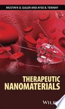 Therapeutic Nanomaterials Book