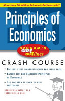 Schaum s Easy Outline of Principles of Economics