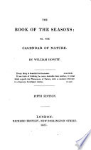 The Book of the Seasons  Or  The Calendar of Nature