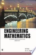 A Textbook of Engineering Mathematics Sem-IV (MGU, Kerala)