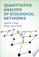 Quantitative Analysis of Ecological Networks Book
