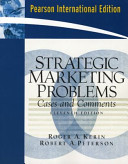 Cover of Strategic Marketing Problems