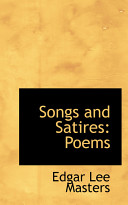 Edgar Lee Masters Books, Edgar Lee Masters poetry book