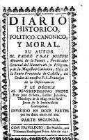Diario histórico político-canónico y moral
