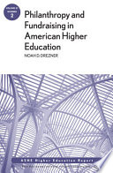 Philanthropy and Fundraising in American Higher Education  Volume 37  Number 2 Book PDF