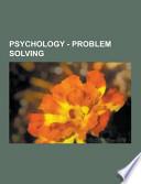 Psychology - Problem Solving