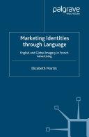 Marketing Identities Through Language Pdf/ePub eBook