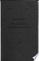 Proceedings of the Society of American Foresters     National Convention