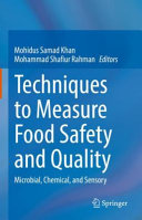 Techniques to Measure Food Safety and Quality