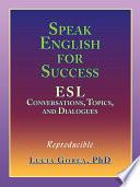 Speak English for Success Book