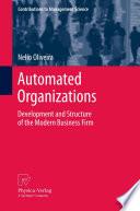 Automated Organizations