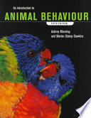 """An Introduction to Animal Behaviour"" by Professor Aubrey Manning, Aubrey Manning, Marian Stamp Dawkins"