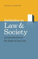Invitation to Law and Society