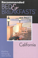 Pdf Recommended Bed and Breakfasts California