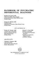 Handbook of Psychiatric Differential Diagnosis Book PDF