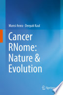 Cancer Rnome Nature Evolution