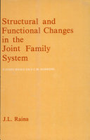 Structural and Functional Changes in the Joint Family System