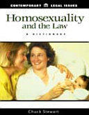 Homosexuality and the Law