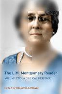 The L.M. Montgomery Reader Pdf/ePub eBook