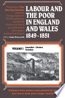 Labour and the Poor in England and Wales  1849 1851
