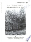 Sugar maple provenance study   West Virginia outplanting   10 year results