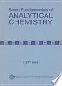 Some Fundamentals of Analytical Chemistry