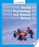 Social Psychology and Human Nature Book