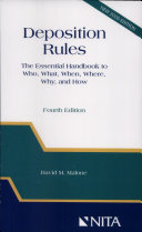 Deposition Rules