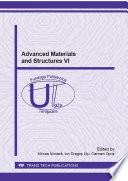 Advanced Materials And Structures Vi Book PDF