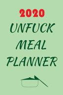 2020 Unfuck Meal Planner