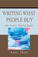 Writing What People Buy [Pdf/ePub] eBook