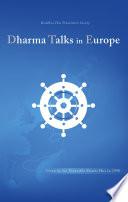 Dharma Talks in Europe