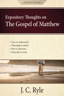 Expository Thoughts On The Gospel Of Matthew A Commentary