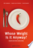 Whose Weight is it Anyway  Book