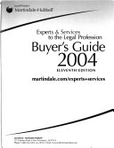 Martindale Hubbell Buyer s Guide Book