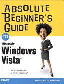 Absolute Beginner's Guide to Microsoft Windows Vista Pdf/ePub eBook