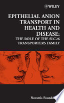 Epithelial Anion Transport in Health and Disease