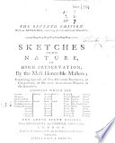 Sketches from nature, etc. (The seventh edition. With an appendix, containing several additional characters.).