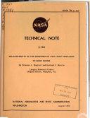 Nasa technical note (no.1-4000)